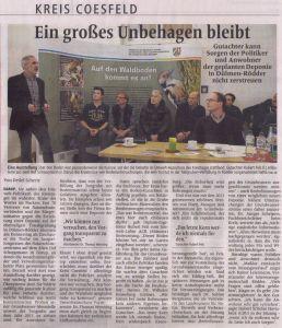 DZ Dülmen 28.11.2015 Kreisseite